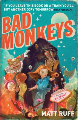 British Bad Monkeys mass market paperback cover